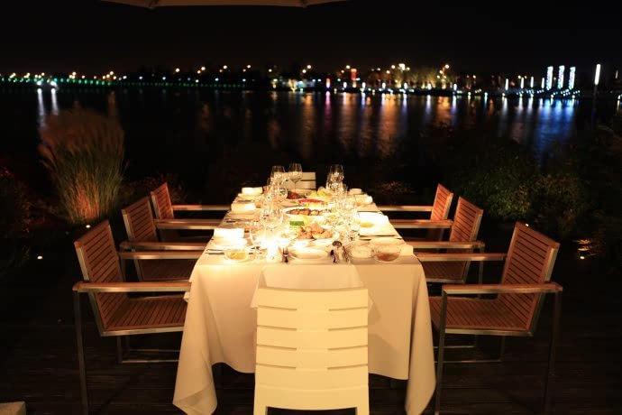 态岛,岛中岛 崇明恒悦轩岛中岛精品餐厅酒店